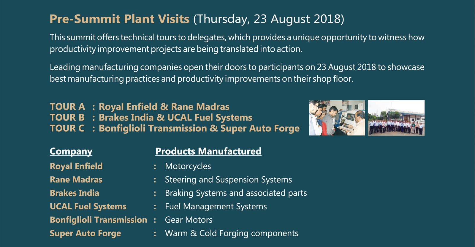 Pre-Summit-Plant-Visits